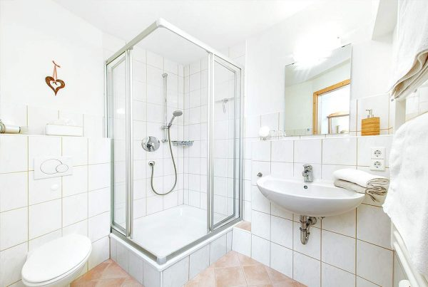 Appartement Walmberg - Helles Bad mit Dusche